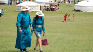 Naadam fashion on parade