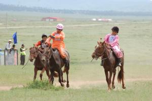 Riders as young as six years old compete, racing anywhere from 10 to 25 kilometers